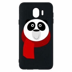 Etui na Samsung J4 Panda in a color scarf