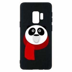 Etui na Samsung S9 Panda in a color scarf