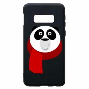 Etui na Samsung S10e Panda in a color scarf