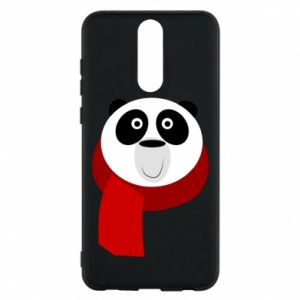 Etui na Huawei Mate 10 Lite Panda in a color scarf