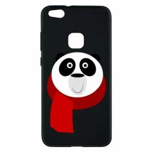 Etui na Huawei P10 Lite Panda in a color scarf