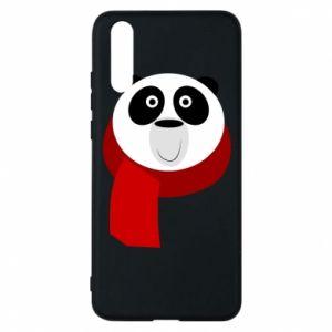 Etui na Huawei P20 Panda in a color scarf