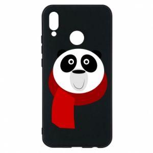Etui na Huawei P20 Lite Panda in a color scarf