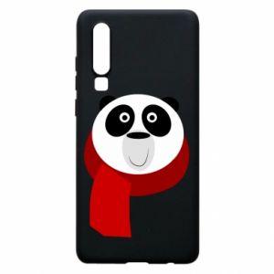 Etui na Huawei P30 Panda in a color scarf