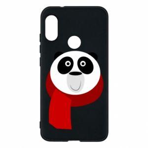 Etui na Mi A2 Lite Panda in a color scarf