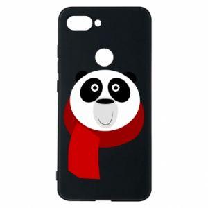 Etui na Xiaomi Mi8 Lite Panda in a color scarf