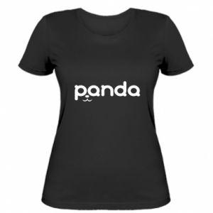 Women's t-shirt Panda smirk