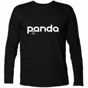 Koszulka z długim rękawem Panda smirk