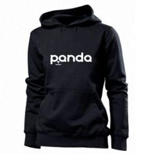 Women's hoodies Panda smirk