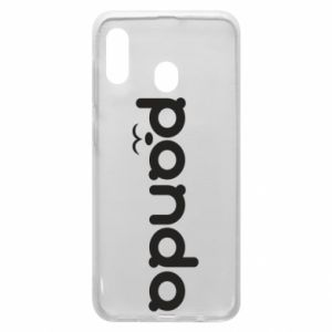 Phone case for Samsung A30 Panda smirk