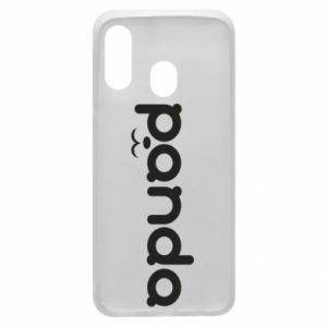 Phone case for Samsung A40 Panda smirk