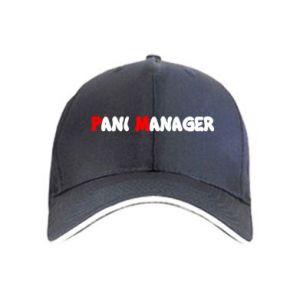 Czapka Pani manager