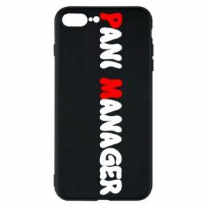 Etui na iPhone 7 Plus Pani manager