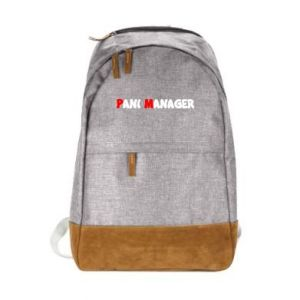 Urban backpack Mrs. manager