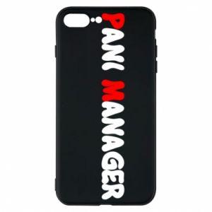 Etui na iPhone 8 Plus Pani manager