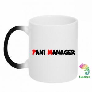 Kubek-kameleon Pani manager