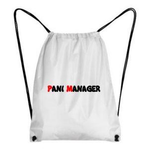 Plecak-worek Pani manager