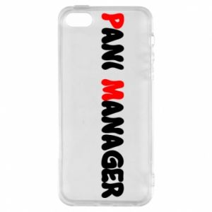 Etui na iPhone 5/5S/SE Pani manager
