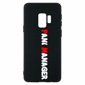 Etui na Samsung S9 Pani manager