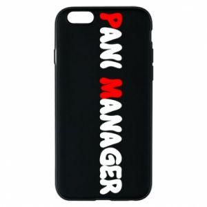 Etui na iPhone 6/6S Pani manager