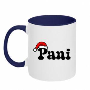 Two-toned mug Mrs