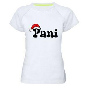 Koszulka sportowa damska Pani