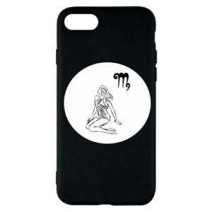 Etui na iPhone SE 2020 Panna i znak zodiaku Panna