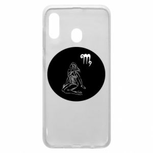Phone case for Samsung A20 Virgo and sign to the Virgo