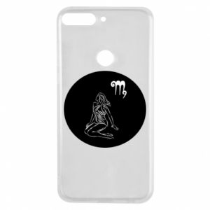 Phone case for Huawei Y7 Prime 2018 Virgo and sign to the Virgo