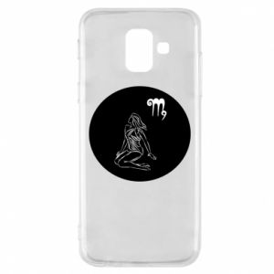 Phone case for Samsung A6 2018 Virgo and sign to the Virgo