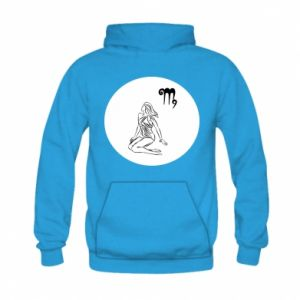 Bluza z kapturem dziecięca Panna i znak zodiaku Panna