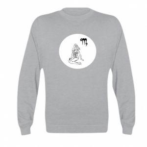 Kid's sweatshirt Virgo and sign to the Virgo