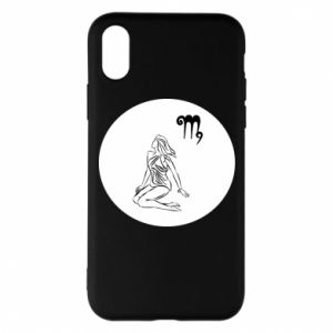 Phone case for iPhone X/Xs Virgo and sign to the Virgo