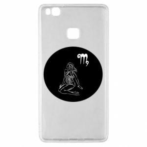 Etui na Huawei P9 Lite Panna i znak zodiaku Panna