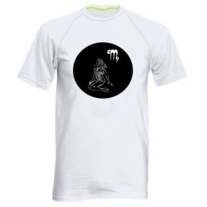 Men's sports t-shirt Virgo and sign to the Virgo