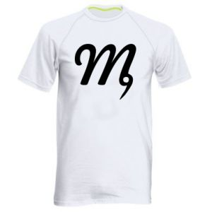 Men's sports t-shirt Virgo sign