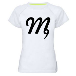 Women's sports t-shirt Virgo sign