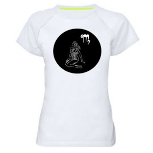 Women's sports t-shirt Virgo and sign to the Virgo