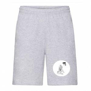 Men's shorts Virgo and sign to the Virgo