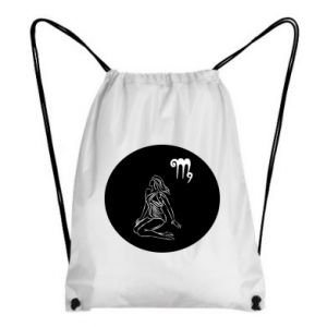 Backpack-bag Virgo and sign to the Virgo