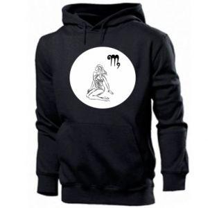 Men's hoodie Virgo and sign to the Virgo