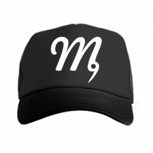 Trucker hat Virgo sign