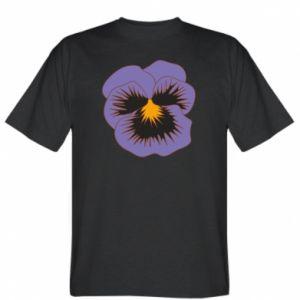T-shirt Pansy Flower