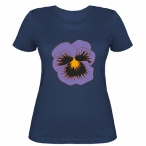 Koszulka damska Pansy Flower