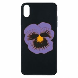 Etui na iPhone Xs Max Pansy Flower