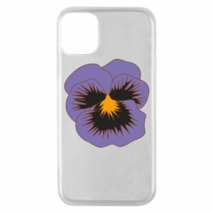 Phone case for iPhone 11 Pro Pansy Flower