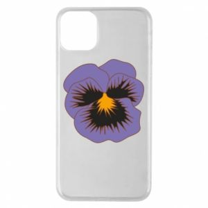 Phone case for iPhone 11 Pro Max Pansy Flower