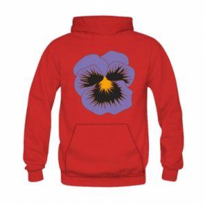 Bluza z kapturem dziecięca Pansy Flower