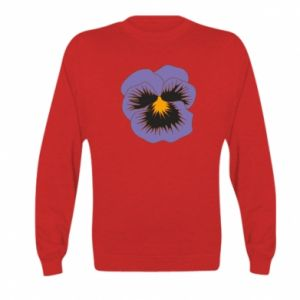 Bluza dziecięca Pansy Flower