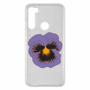 Etui na Xiaomi Redmi Note 8 Pansy Flower